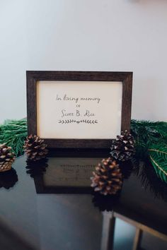 Wonderfully Woodsy Winter Wedding in Purple and Green - Ctg Photography http://www.confettidaydreams.com/winter-woodsy-wedding-purple-green/