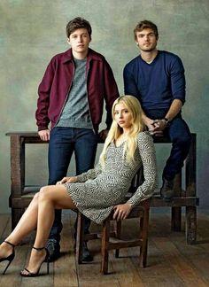 Nick Robinson, Alex Roe, Chloe Moretz (The 5th Wave (Movie)