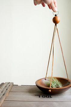 bremer collection. vintage hanging bowl
