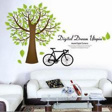 The New Green Scene Wall Sticker Vinyl Decal Wallpaper Covering Decoration