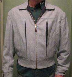 années 1950 campus Gabardine homme veste / par lipmeister sur Etsy