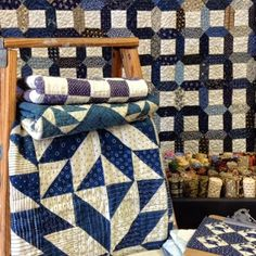 Blue and White quilt show Temecula quilt Co