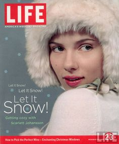 scarlett johansson magazine covers | Scarlett Johansson LIFE Magazine: Scarlett Johansson Cover (December ...