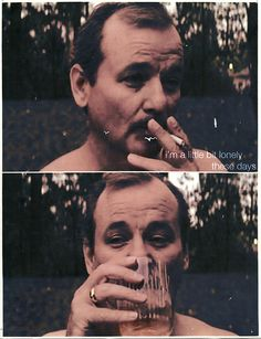 Murray smokes, Murray drinks