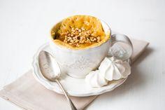 Mug cake au yaourt caramélisé
