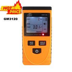 GM3120 LCD Rivelatore di Radiazione Elettromagnetica Tester Dosimetro di Radiazione di Misura per il Calcolatore Del Telefono Mobile