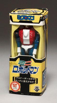 タカラ【ミクロマン ミニロボットマン (赤)】(1977)
