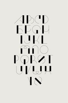 Typography in Communication Design-advertising Hand Lettering Alphabet, Calligraphy Letters, Typography Letters, Typography Poster, Art Deco Typography, Caligraphy, Alphabet Design Fonts, Number Typography, Typography Layout