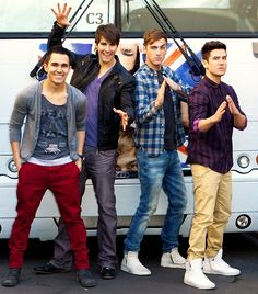 big time rush, love these boys <3