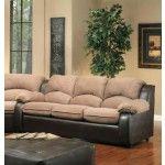 $670.00  Chelsea Home Furniture - Verona Walter Room Shot ElPaso Mocha Sofa - 3201-S