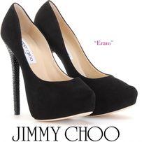 d6710dd6a2 Eram Crystal Embellished Heels, Black Suede Pumps, Kinds Of Shoes, Cowgirl  Boots,