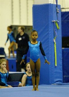 Little Gabby:) Gymnastics Grips, Gymnastics Pictures, Olympic Gymnastics, Olympic Games, Elite Gymnastics, Gymnastics History, Nbc Olympics, Summer Olympics, Gaby Douglas