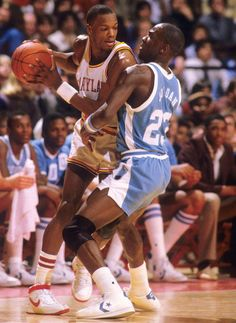 Michael Jordan-(North Carolina) vs Len Bias -(Maryland) We never got a chance to see what could've been....#RIPlenbias