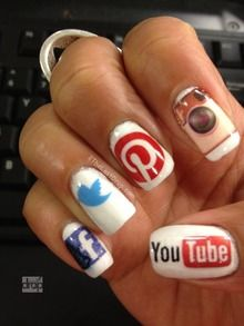 DIY waterslide decal stickers used for all nails . Facebook, Twitter, Pinterest, Instagram and YouTube.