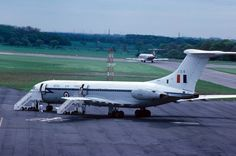 RAF VC-10 C.1 XV106 is pictured at Newcastle Airport on May 22nd 1976. Photo by emdjt42