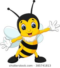 a555b0202 24 Best Bee Cartoon images | Bees, Honey, Animal illustrations