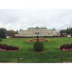 """©HonestMag  """"The Belvedere, palace & museum, Vienna, Austria. #wein #austria"""""""