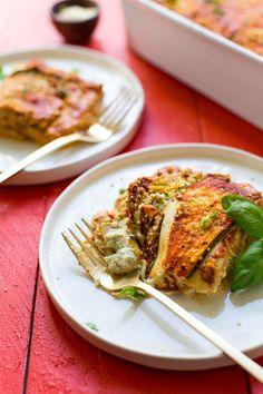 AMAZING #Vegan #Glutenfree #Lasagna with DIY Nut Ricotta 8 ingredients protein-rich SO #healthy #recipe #lasagna #dinner