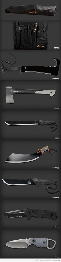 Knives and axes Basic Gear