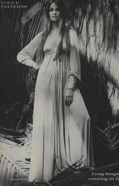 Vogue 1970 - kinda looks like rachel bilson tall with long hair??