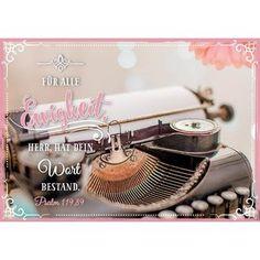 Postkarte Für alle Ewigkeit
