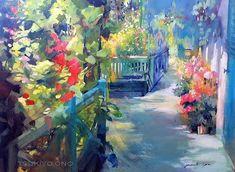 Коллекция картинок: Цветочные акварели Tsukiyo Ono