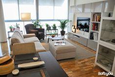 i loft you - Interiérový design - cenově dostupný design pro skutečný život Ikea Tv Wall Unit, Dining Bench, Dining Room, Interiores Design, Office Desk, Loft, Barcelona, House, Furniture