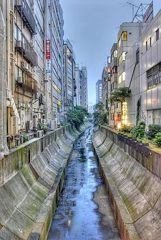 Believe it or not, a river runs through it! #Shibuya, #Tokyo, #Japan