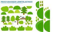 Pikku Kakkosen tulostettavia askartelupapereita   Pikku Kakkonen   Lapset   yle.fi Free Prints, Character, Lettering