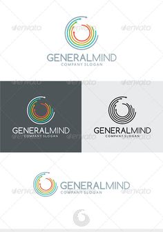 General Mind Logo by Kapacyko Fully Editable Logo, AI, EPS, CDR, PNG files Used free font link in the zip folder Easy work and good luckDont forget to rate if