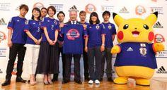 FOOTBALL - Associer les forces vives de la nation. Pikachu et dix autres Pokémon ont été sélectionnés par le Japon à la Coupe du monde 2014 au Brésil. Leur objectif? Jouer le rôle de mascotte officielle des Samurai Blue - le surnom de la sélection - et symboliser le partenariat signé par Adidas (l'équipementier), la fédération japonaise de football (JFA) et la Pokémon Company (Nintendo).