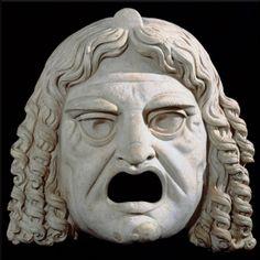 Maschera dell'antica Grecia