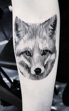 En octobre tatoue renards comme chenapans à ! Cute Tattoos, Fox Tattoos, Fuchs Tattoo, Tattoo Und Piercing, Fox Design, Blackwork, Crow, Tatting, Body Art