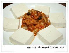 Tofu Kimchi (Dubu Kimchi in Korean)