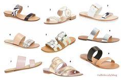 Summer Slides | #shoes #summer #sandals | allislovely.com