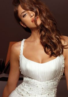 Beautiful Irina Shayk for Alessandro Angelozzi Couture 2013