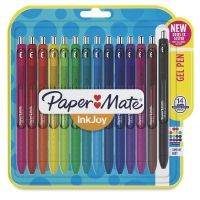 The non-smearing ink in Paper Mate Inkjoy Retractable Ballpoint Pens means crisp, clean lines with no smudging. These colorful pens also have a rubberized grip that extends the pen length, and a see-through window that shows how much ink is left. Color Coding Planner, Homemade Journal, Chapstick Lip Balm, Colour Therapy, Pen Collection, Sharpie Crafts, Spy Gadgets, Art Supply Stores, Cute School Supplies