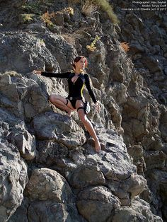 Lara Croft wetsuit cosplay | Tomb Raider Underworld | Flickr
