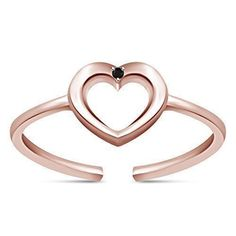 Brightt Cute Heart Infinity .925 Sterling Silver Ring Sizes 3-10
