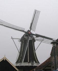 De nog in werking zijnde molen De Fortuin in Hattem #hattem #netherlands