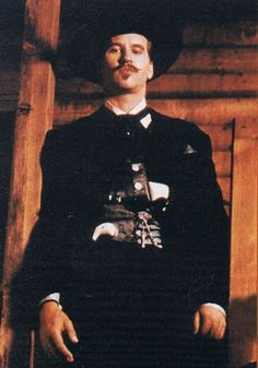 Val Kilmer as Doc Holliday prepared for cards. Movie Photo, I Movie, Movie Stars, Tombstone Movie, Tombstone Quotes, Tombstone 1993, Sam Elliott Pictures, Doc Holliday, Val Kilmer