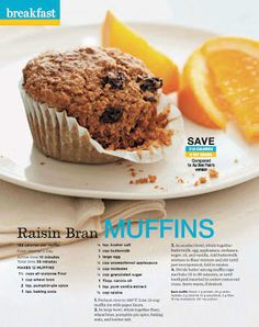 Raisin Bran Muffins Recipe