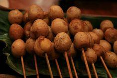 Sate telur puyuh Indonesian Cuisine, Potatoes, Foods, Cakes, Vegetables, Drinks, Food Food, Drinking, Food Items