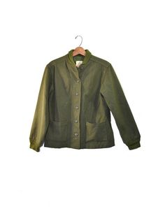 Vintage Army Jacket  Green Army Jacket Liner Wool Army Liner Vintage Military Uniforms, Vintage Military Jacket, Vintage Clothing, Vintage Men, Vintage Outfits, Army Shirts, Formal Dresses For Weddings, Romper Pants, Green Jacket