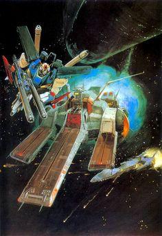 Gundam by Yoshiyuki Takani | ガンダム - 高荷 義之 *