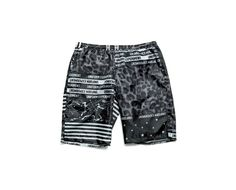 uniform experiment | PRODUCT | MULTI PATTERN POLYESTER EASY SHORTS