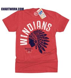 Cleveland Windians Baseball T shirt