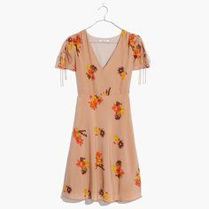 Silk Poppy Dress in
