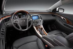Inside a 2013 Buick LaCrosse CXS