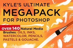 Megapack: 140+ Real Art PS Brushes